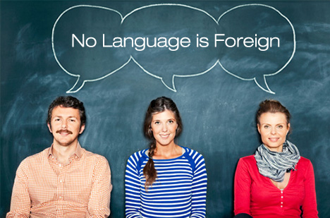 No Language is Foreign
